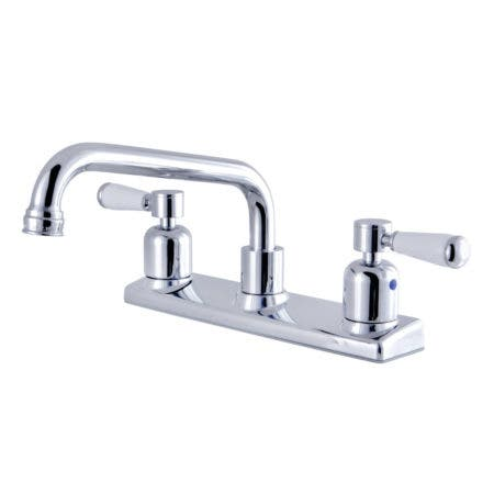 Kingston Brass FB2131DPL 8-Inch Centerset Kitchen Faucet, Polished Chrome