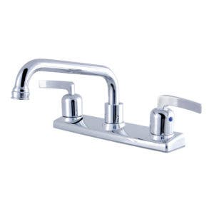 Kingston Brass FB2131EFL 8-Inch Centerset Kitchen Faucet, Polished Chrome