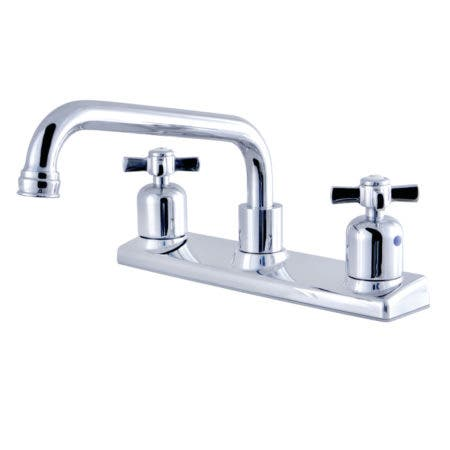 Kingston Brass FB2131ZX 8-Inch Centerset Kitchen Faucet, Polished Chrome