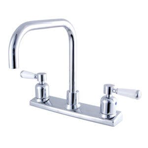 Kingston Brass FB2141DPL 8-Inch Centerset Kitchen Faucet, Polished Chrome