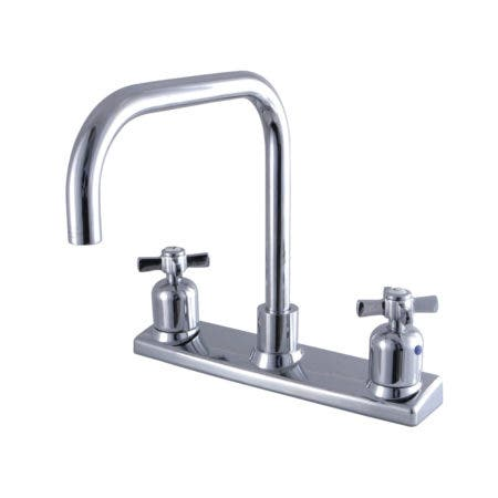 Kingston Brass FB2141ZX 8-Inch Centerset Kitchen Faucet, Polished Chrome