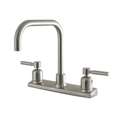 Kingston Brass FB2148DL Concord 8-Inch Centerset Kitchen Faucet, Brushed Nickel