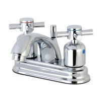 Kingston Brass FB2601DX Concord 4-Inch Centerset Lavatory Faucet with Retail Pop-Up, Polished Chrome
