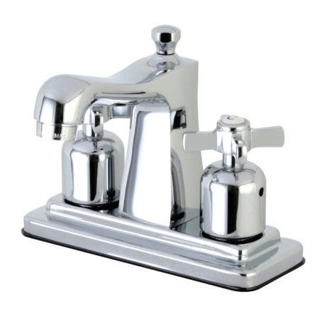 Kingston Brass FB4641ZX Millennium 4-Inch Centerset Lavatory Faucet with Retail Pop-Up, Polished Chrome
