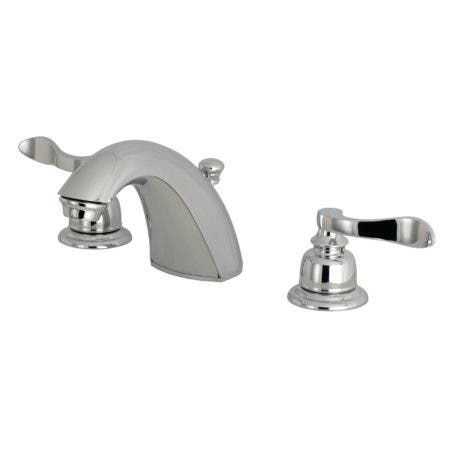 Kingston Brass FB8951NFL Mini-Widespread Bathroom Faucet, Polished Chrome