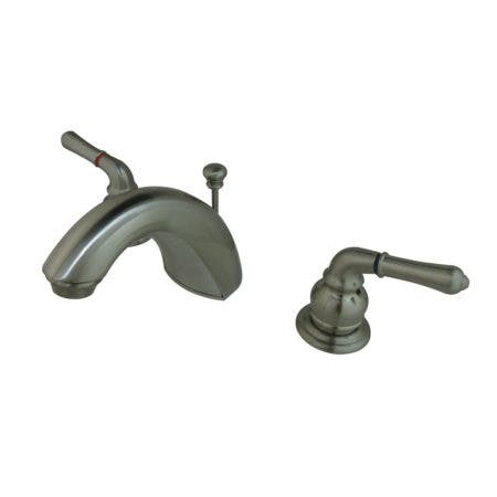 Kingston Brass FB958 Mini-Widespread Bathroom Faucet, Brushed Nickel