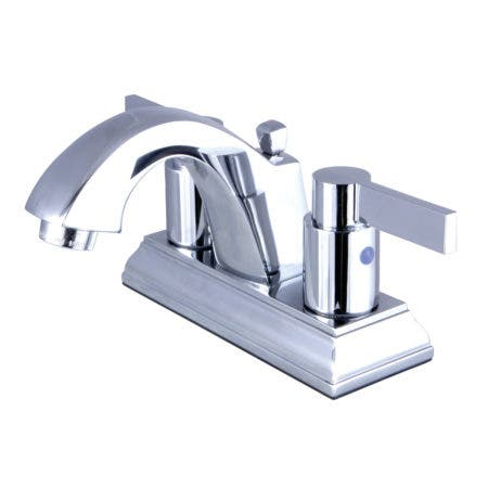 Fauceture FSC4641NDL 4 in. Centerset Bathroom Faucet, Polished Chrome