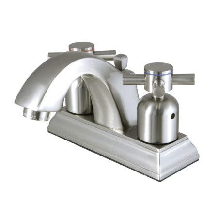 Fauceture FSC4648DX 4-Inch Centerset Lavatory Faucet, Brushed Nickel