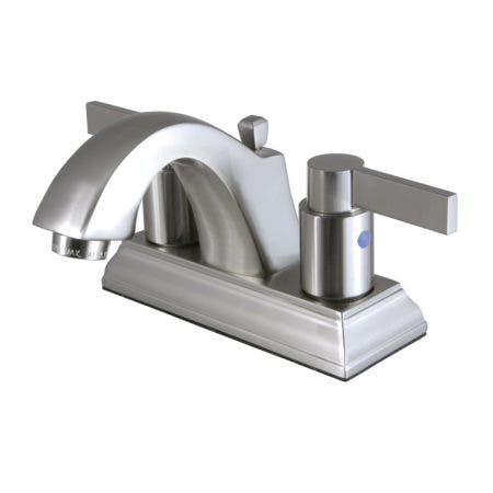 Fauceture FSC4648NDL 4 in. Centerset Bathroom Faucet, Brushed Nickel