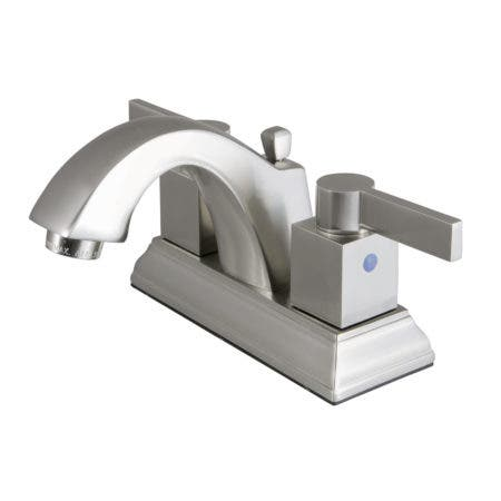 Fauceture FSC4648NQL 4 in. Centerset Bathroom Faucet, Brushed Nickel