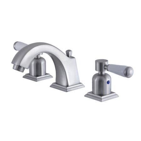 Fauceture FSC4688DPL 8 in. Widespread Bathroom Faucet, Brushed Nickel