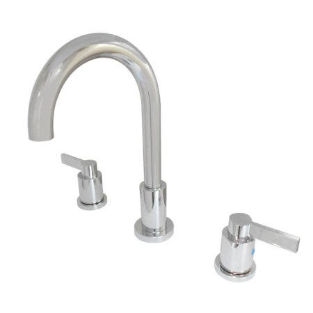 Fauceture FSC8921NDL NuvoFusion Widespread Bathroom Faucet, Polished Chrome
