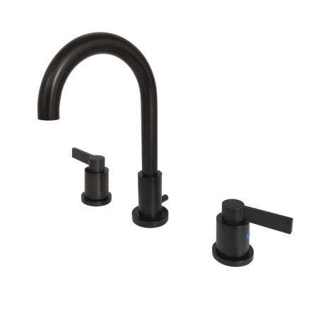 Fauceture FSC8925NDL NuvoFusion Widespread Bathroom Faucet, Oil Rubbed Bronze