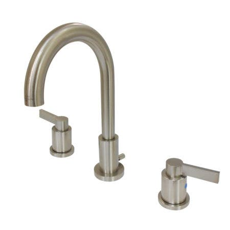 Fauceture FSC8928NDL NuvoFusion Widespread Bathroom Faucet, Brushed Nickel