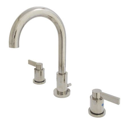 Fauceture FSC8929NDL NuvoFusion Widespread Bathroom Faucet, Polished Nickel
