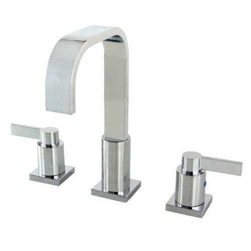 Fauceture FSC8961NDL NuvoFusion Two Handle Widespread Lavatory Faucet, Chrome