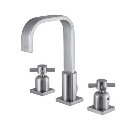 Fauceture FSC8968DX 8-Inch Widespread Lavatory Faucet, Brushed Nickel