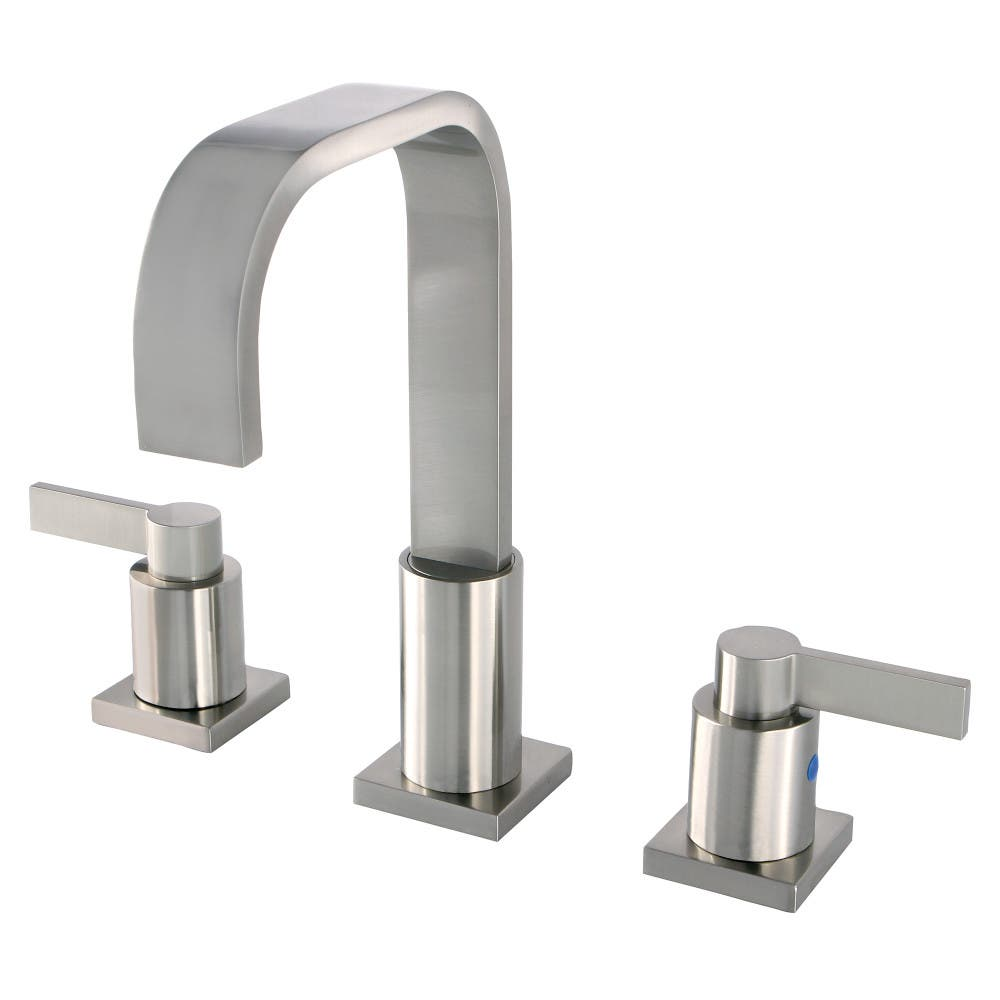 Fauceture FSC8968NDL NuvoFusion Two Handle Widespread Lavatory Faucet, Satin Nickel
