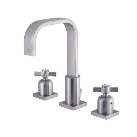 Fauceture FSC8968ZX 8 in. Widespread Bathroom Faucet, Brushed Nickel