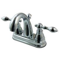 """Fauceture FSY5611ACL American Classic Two Handle 4"""" Centerset Lavatory Faucet, Chrome"""