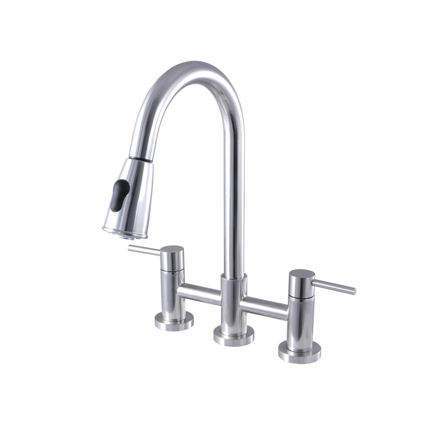 Gourmetier Gs8251dl Concord Two Handle Kitchen Bridge Faucet With