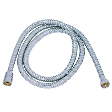 """Kingston Brass H659CRI Complement 59"""" Double Spiral Stainless Steel Hose, Polished Chrome"""
