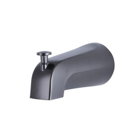 Kingston K1213A5 Rear Threaded Tub Spout with Top Diverter, Oil Rubbed Bronze