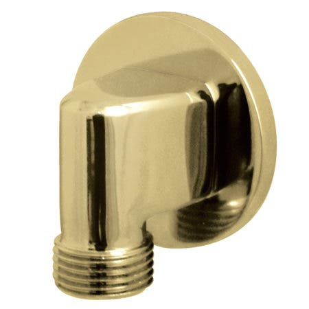 Kingston Brass K173M2 Wall Mount Water Supply Elbow, Polished Brass