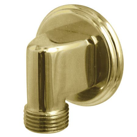 Kingston Brass K173T2 Wall Mount Water Supply Elbow, Polished Brass