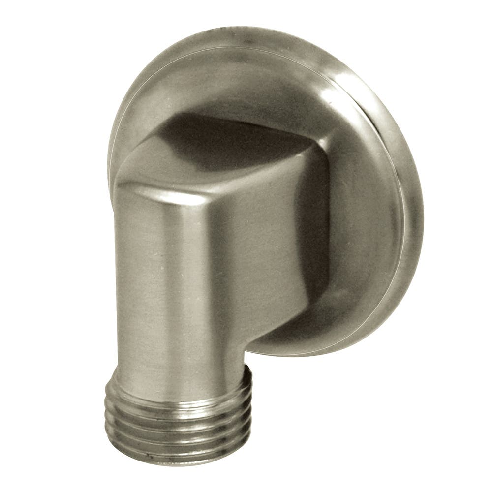 Kingston Brass K173T8 Wall Mount Water Supply Elbow, Brushed Nickel