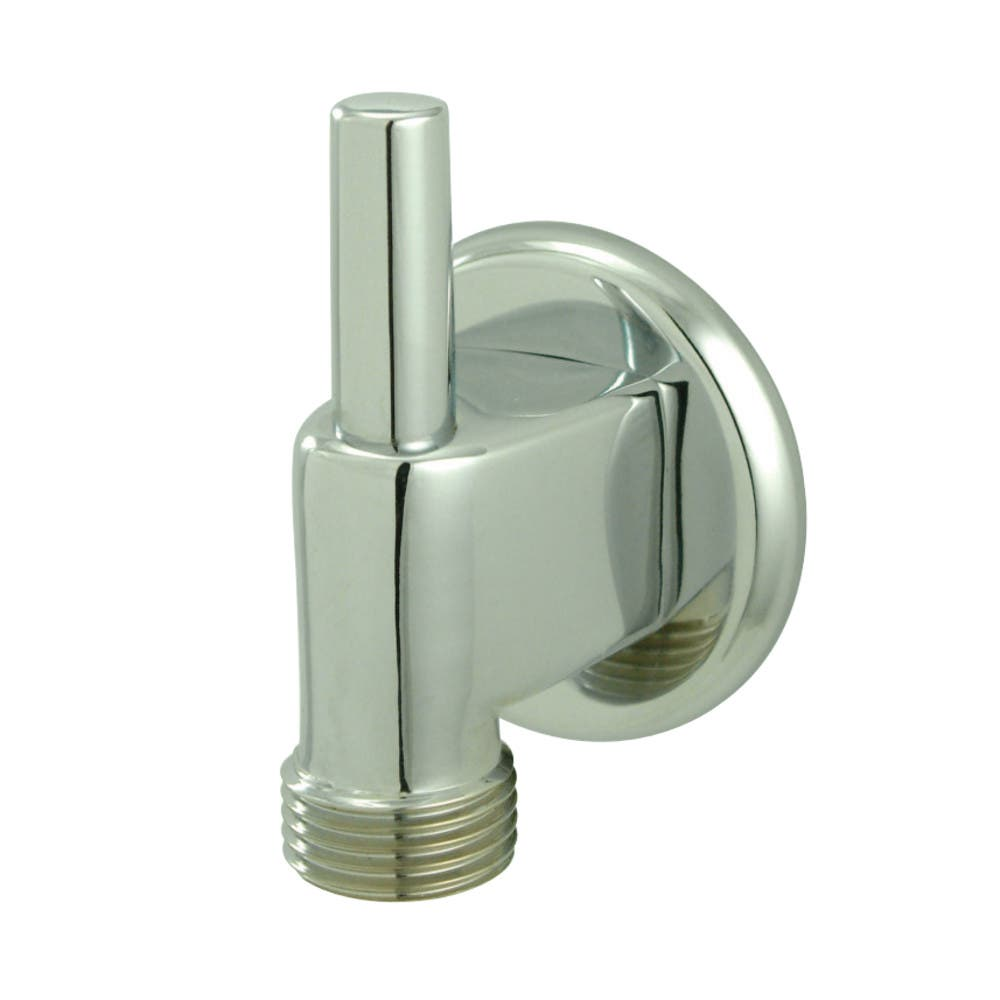 Kingston Brass K174A1 Trimscape Wall Mount Water Supply Elbow With Pin Wall Hook, Polished Chrome