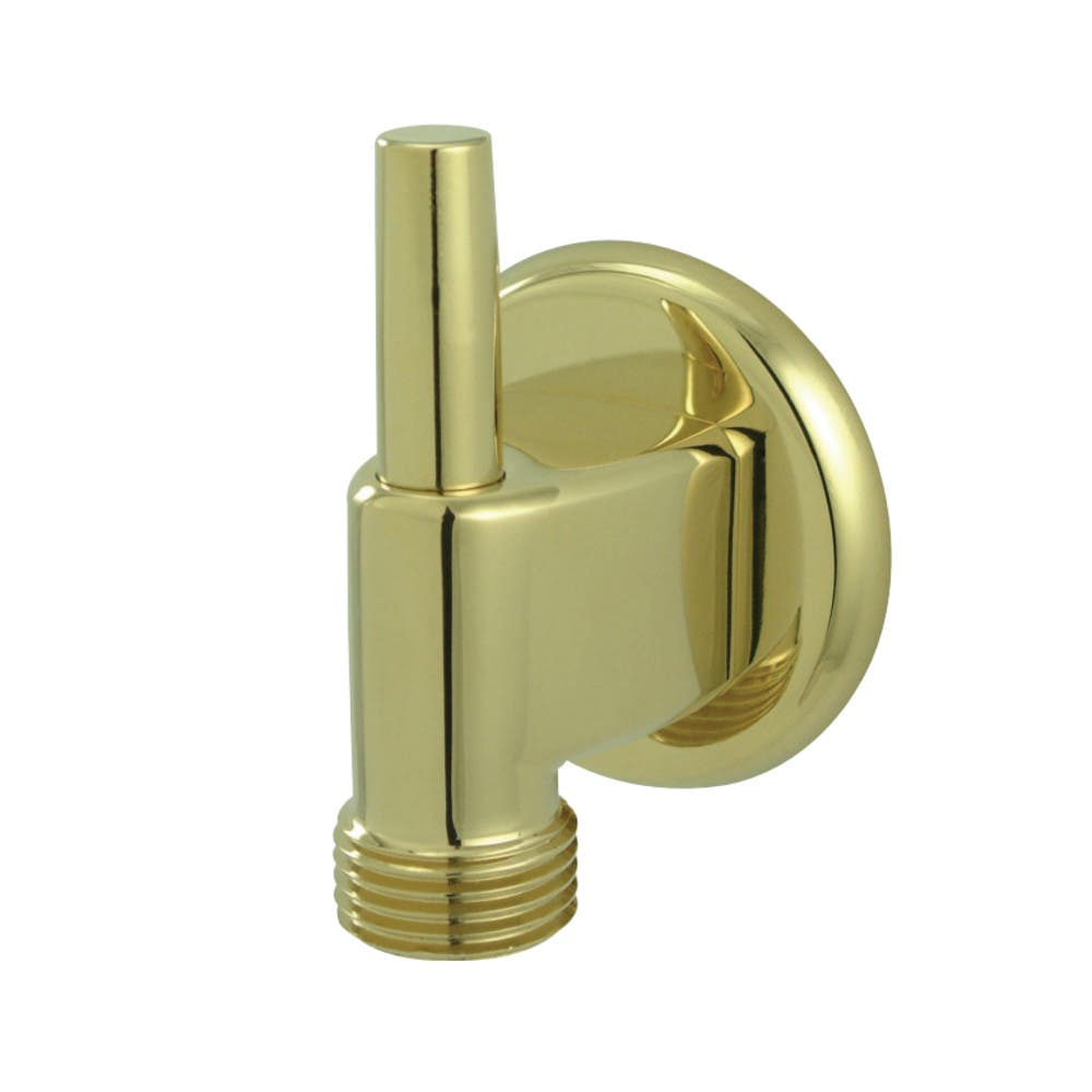 Kingston Brass K174A2 Wall Mount Water Supply Elbow With Pin Wall Hook, Polished Brass
