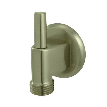 Kingston Brass K174A8 Wall Mount Water Supply Elbow With Pin Wall Hook, Brushed Nickel