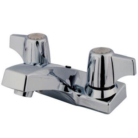 Kingston Brass KB100B 4 in. Centerset Bathroom Faucet, Polished Chrome