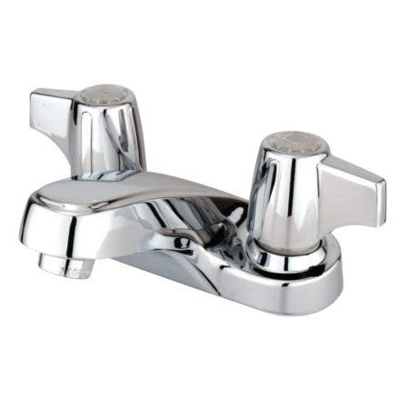 Kingston Brass KB160LP 4 in. Centerset Bathroom Faucet, Polished Chrome