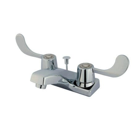 Kingston Brass KB191 4 in. Centerset Bathroom Faucet, Polished Chrome