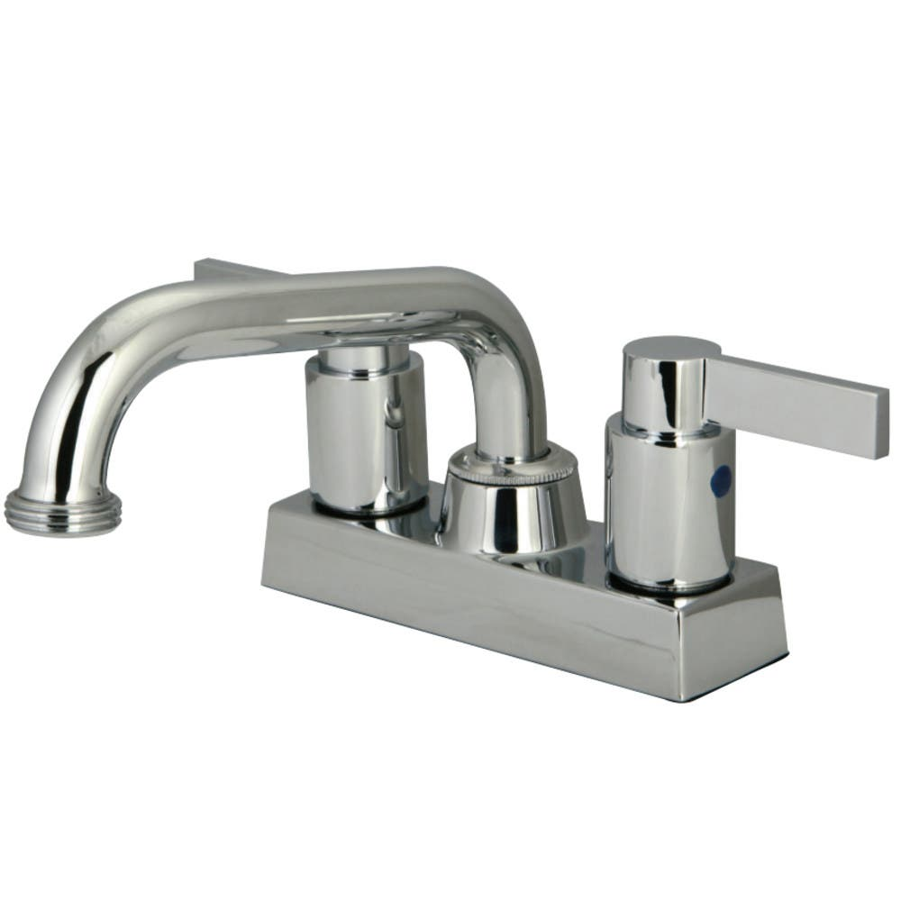 Kingston Brass KB2471NDL Two Handle 4-inch Centerset Laundry Faucet