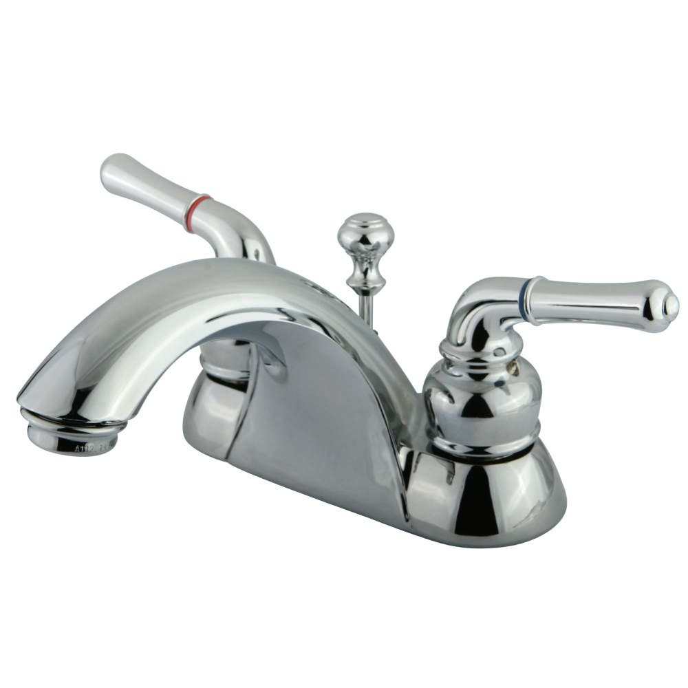Kingston Brass KB2621B 4 in. Centerset Bathroom Faucet, Polished Chrome