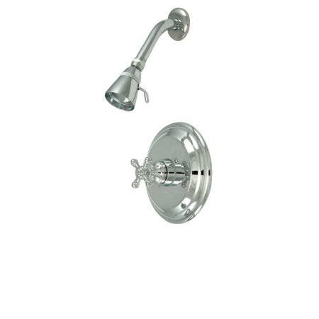 Kingston Brass KB2631BXSO Metropolitan Shower Only, Polished Chrome