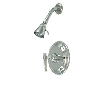 Kingston Brass KB2631MLSO Milano Shower Only, Polished Chrome