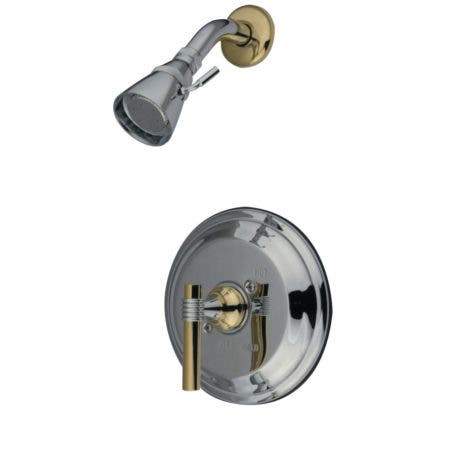 Kingston Brass KB2634MLSO Milano Shower Only, Polished Chrome