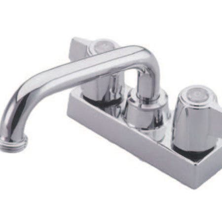 Kingston Brass KB470 Laundry Tray Faucet, Polished Chrome