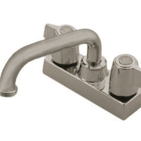 Kingston Brass KB470SN Two-Handle?Laundry Faucet, Brushed Nickel