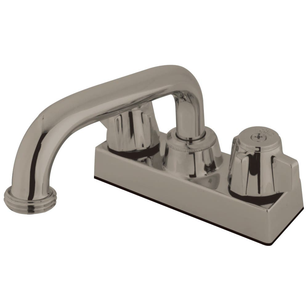 Kingston Brass KB471SN Laundry Tray Faucet, Brushed Nickel