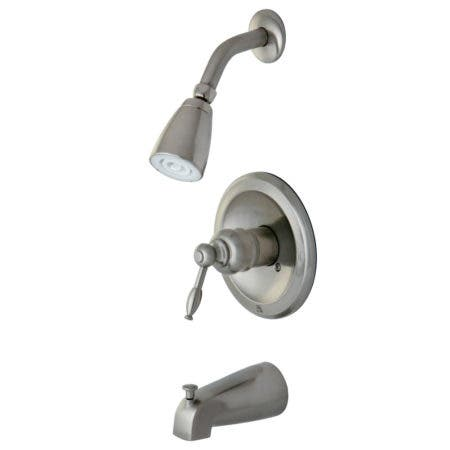 "Kingston Brass KB2622 Two Handle 4"" Centerset bathroom Faucet with Retail Pop"