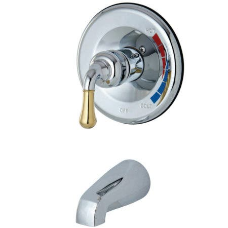 Kingston Brass KB634TO Magellan Tub Only for KB634, Polished Chrome