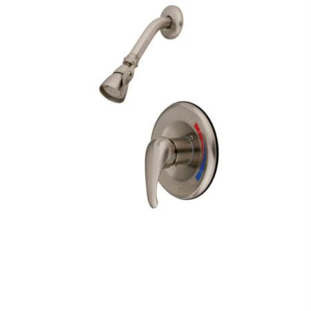 Kingston Brass KB658SO Chatham Shower Only For Tub & Shower With Single Lever Handle, Brushed Nickel