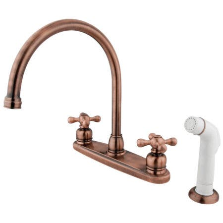 Kingston Brass KB961 WIDESPREAD bathroom FAUCET, Polished Chrome 8
