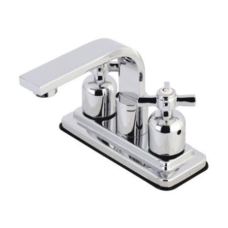 Kingston Brass KB8461ZX Millennium 4-Inch Centerset Bathroom Faucet, Polished Chrome