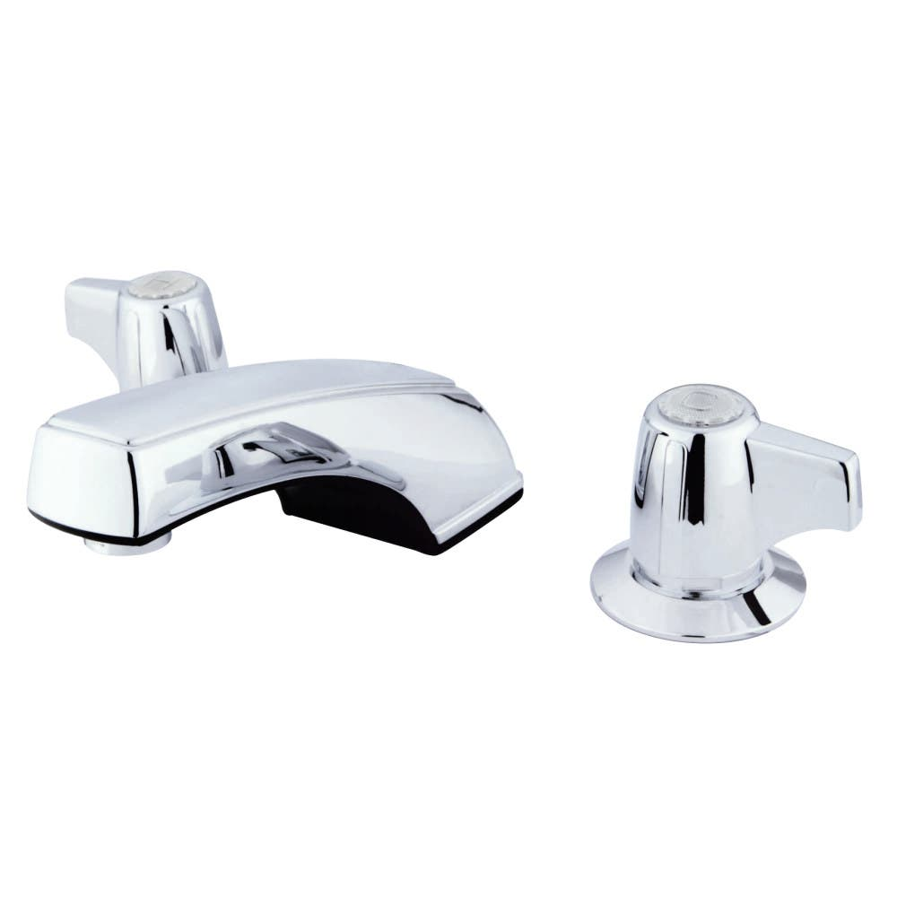 Kingston Brass KB920LP 8 to 16 in. Widespread Bathroom Faucet, Polished Chrome